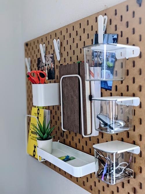 Organisation de mon travail en freelance : un bureau bien aménagé pour ne pas être distraite !