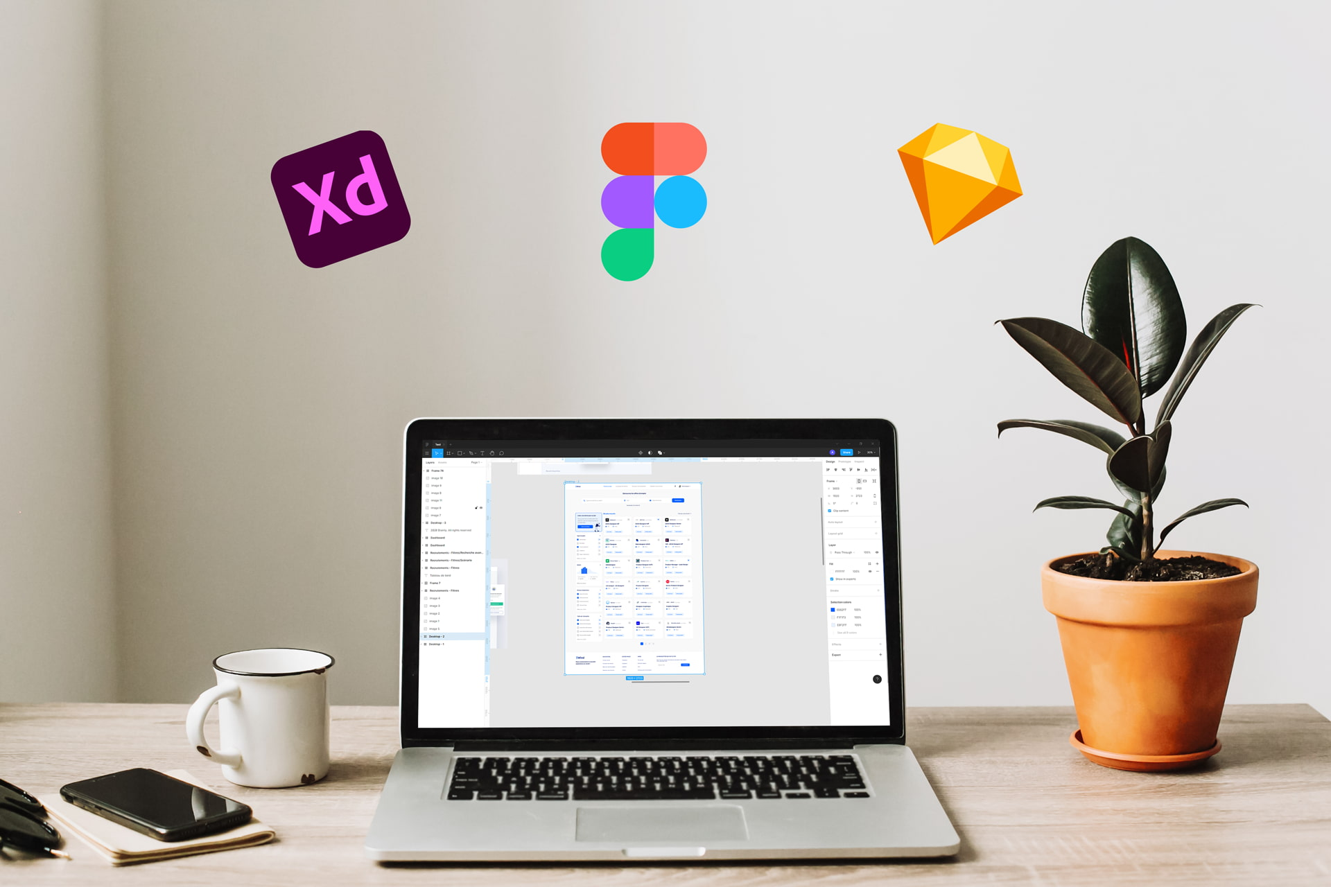 Figma vs Adobe XD, Sketch : quel est le meilleur outil de design ?